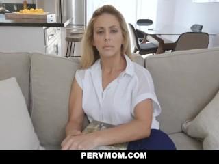 PervMom – Horny Big Tit Mom Fucks Panty Sniffing StepSon