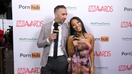 Pornhub on the Red Carpet with Asa Akira and Keiran Lee