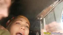 Trike Patrol - Jonge Filipijnse schatje klaar op opgepikt en geneukt te worden
