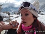 Sexo en español con adolescente Tinder en la nieve - Made in Canarias