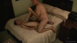 Straight Teen Whimpers When Old Man Fucks His Virgin Hole Bareback