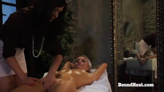 Disappeared On Arrival 2: Obedient Slave In Handcuffs Oiled For Mistress