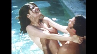 Outdoor Pool Orgy