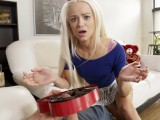 Bratty Sis – Little Step Sister Falls For Brothers Valentines Day Surprise