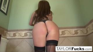 Taylor Vixen Looks Extra Hot In Black Stockings  big natural tits taylor vixen big tits ass whooty boobs solo masturbate pornstar puba pussy pawg feet stockings nude big boobs taylorvixen natural tits