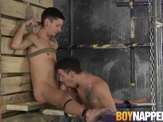 Skinny twinks Jack Taylor and Xavier Sibley get naughty