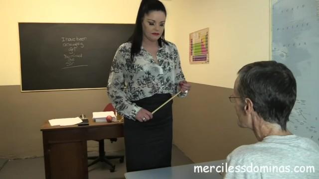 Strict governess spanks Back to school - strict teacher sarah kelly