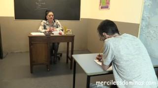 Back To School - Strict Teacher Sarah Kelly