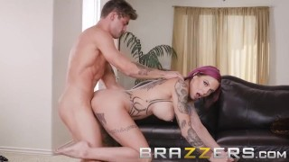 Brazzers - Stepmom Anna Bell Peaks loves games and cock Cock pussy
