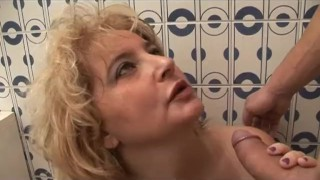 Dirty Italian MOM at home. Family dirty secret. Real Time #05