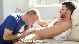 ManRoyale Happy valentines day fuck with hunk Scott Demarco