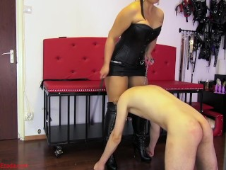 Punished for failing to show proper devotion to My boots