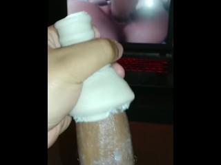 Masturbating to Persona 5 Hentai Part 1