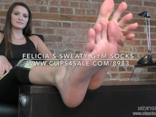 Felicia's Sweaty Gym Socks - (Dreamgirls in Socks)