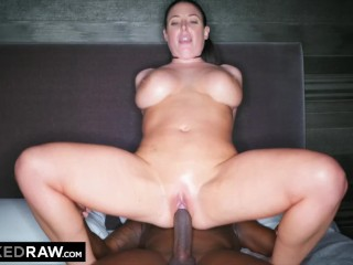 BLACKEDRAW Black stud takes Angela White in her hotel room