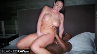 Angela hotel stud blackedraw white room in her black takes deepthroat fuck