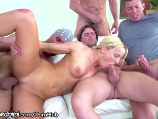 Desperate For Attention, Victoria Tastes 4 Big Daddy Dicks