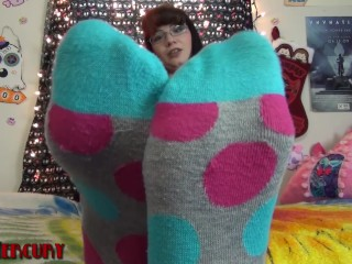 Smelly Sock Tease and Worship