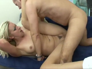 Wild Anal For Skinny Blonde