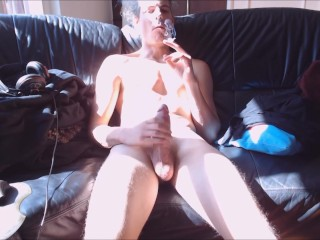 Cum, into the light. Smoke and chill