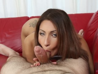 Hussie Auditions: Sexy Latina Jade Jantzen's First Audition
