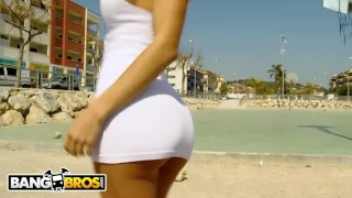 BANGBROS - Latina MILF Franceska Jaimes Gets Pounded On Ass Parade! Wickedpictures butt
