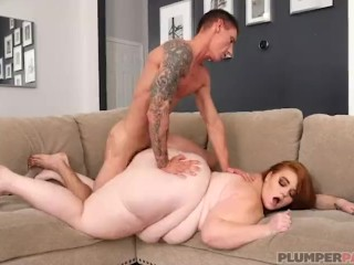 Huge Ass SSBBW Julie Ginger Fucks Hubby's Friend