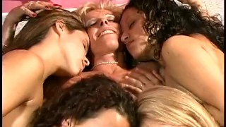 MILF Gets 4 Young Girls As A Valentine Day Present From 2001