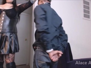 Mistress Punishes Male Submissive Flogging paddling Preview