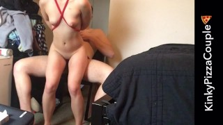 Tied Choked Out and Rough Fucked with Multiple Orgasms porno