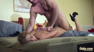 Hot by old old femdom young babe sexy fucking in dominated man hardcore serbian young