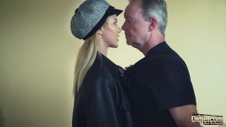 Sexy in old hardcore femdom man by dominated hot young babe fucking old young domination