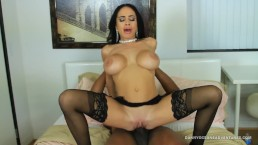DOCEAN - Big Tit Latina Fucking Black Dick