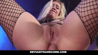 DeviantHardCore - Blonde Slut Caged Up & Dominated Faris brother