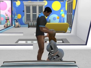 Monsta head from new Roomy Sims 4 Reality SHow