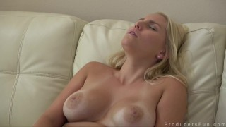 Blonde Big Tits Babe Vanessa Cage Masturbates then Blows Porn Producer Hotgold portugese