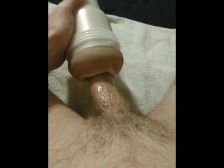 Fucking Fleshlight until I Cum