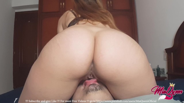 The Magic Of Facesitting, A Real Female Orgasm By -6793