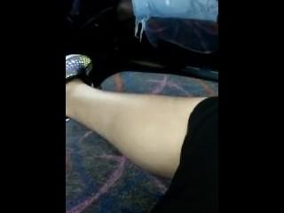 En el metro/autobus