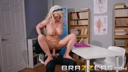 Brazzers - Busty Student Barbie wants some extra credit