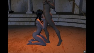 LARA CROFT MIND CONTROLLED BY TEMPLE WITCH PART 3
