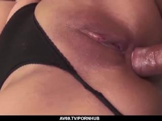 Top Asian fuck scenery with lovely Aika Hoshino - More at 69avs.com