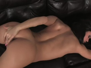 HORNY YOUNG SLUT MANDY MORE GETS OFF AT HER HOUSE ALONE