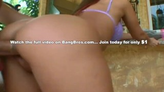 BANGBROS - Rachel Starr Classic Ass Parade Scene, WATCH NOW! Twice tits