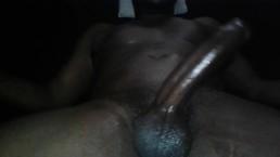 "Big Black Dick Stroking ""Heavy Cum Load"""