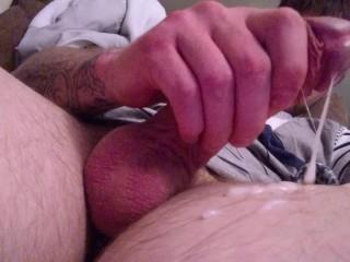 Big Dick Cumshot!!!! Huge load!!!!