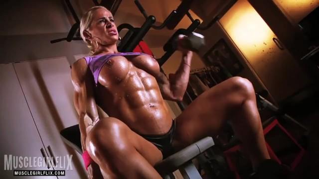 Bodybuilding women porno