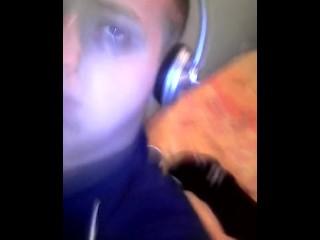 Teen boy wank