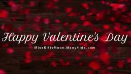 All Valentine's Day SAMPLES - MissKittyMoon.ManyVids.com
