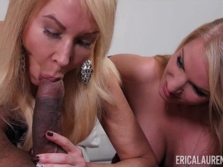 Step Daughter Cock Sucker Mom Joins in